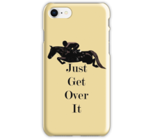 Quot Just Get Over It Equestrian Horse Quot Stickers By Patricia
