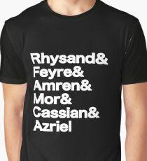 The Night Court Squad (black) Graphic T-Shirt