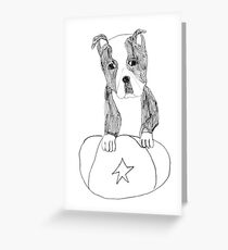 Sad Eyed Pup Greeting Card