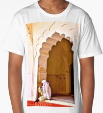 Lounging at the Agra Fort Long T-Shirt