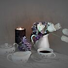 Early Morning Coffee by Sherry Hallemeier