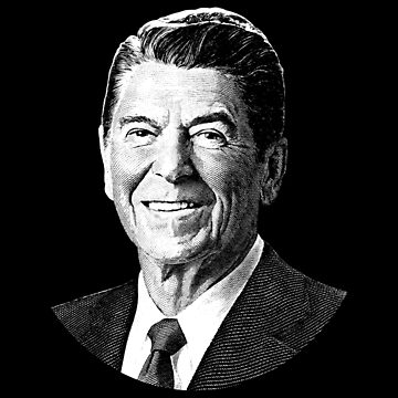 President Ronald Reagan Graphic by warishellstore