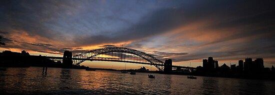 Shadows And Light , Sydney Harbour, Australia by Philip Johnson