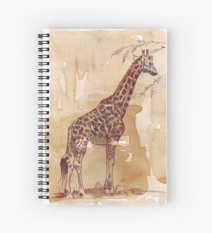 Lean and tall Spiral Notebook