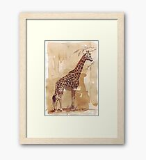 Lean and tall Framed Print