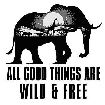 All Good Things Are Wild And Free by caoorang
