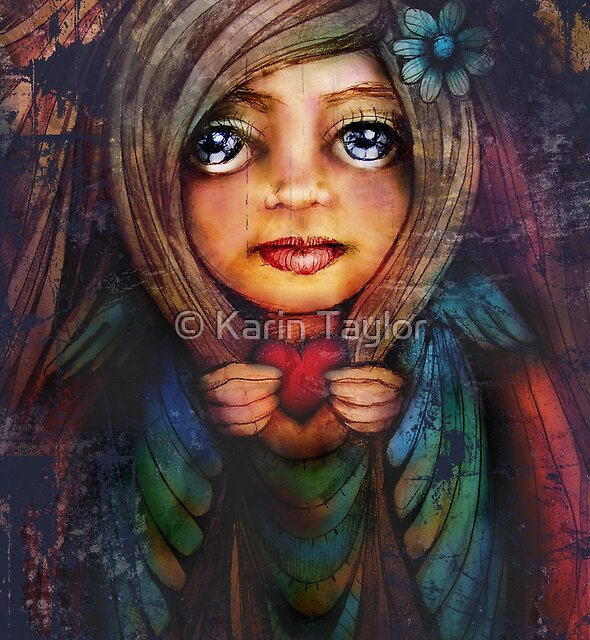 from the heart by Karin Taylor