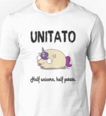 Unitato Half Unicorn, Half Potato Unisex T-Shirt