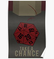 Dungeons and Dragons: Take A Chance  Poster