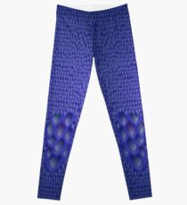 Blue Dragon Scale Leggings Leggings