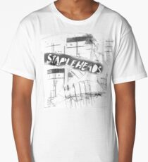 """The Stapleheads Band T-Shirt/Poster - """"Television/Dry logo"""" Long T-Shirt"""