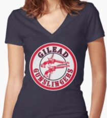The Nineteenth Inning Women's Fitted V-Neck T-Shirt