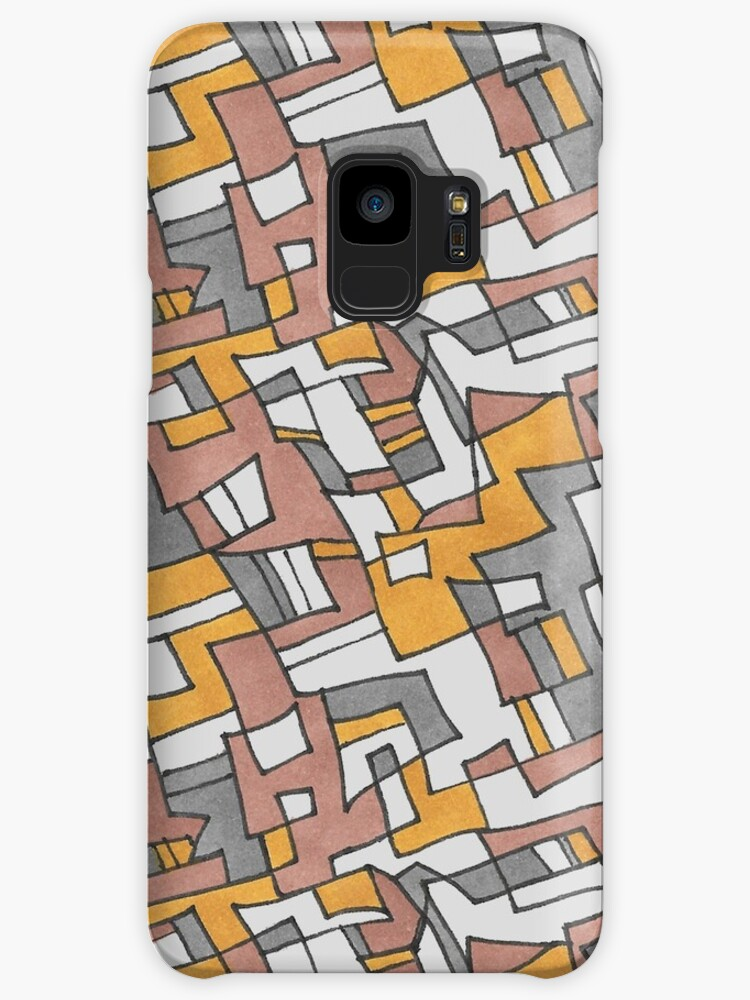 Overlapping Squares Pattern by TooCoolUnicorn