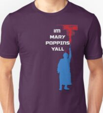 Mary Poppins Y'all Unisex T-Shirt