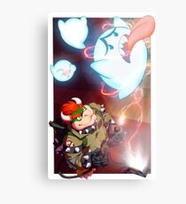 Bowser - Boo Busters Metal Print