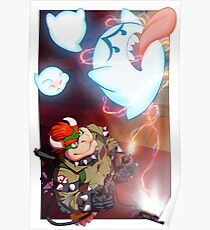 Bowser - Boo Busters Poster