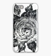 Rose. Graphics iPhone Case/Skin
