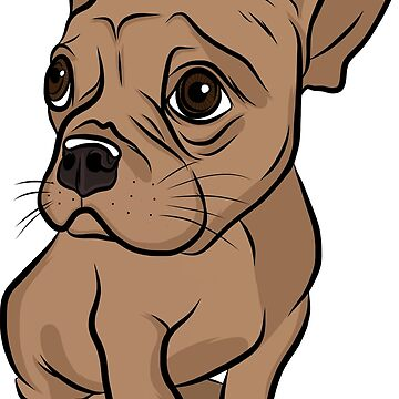 Brown French Bulldog  by rmcbuckeye