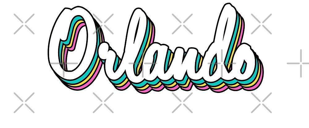 Orlando white retro by lolosenese