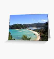 Abel Tasman NP Greeting Card