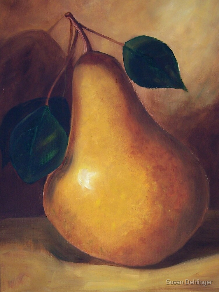 """""""Pear Study""""  SOLD by Susan Dehlinger"""
