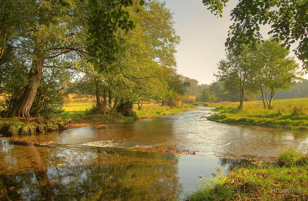The River Mimram at Tewin....October Morning by Roantrum