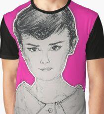 (Beauty Queen - Audrey Hepburn) - yks by ofs珊 Graphic T-Shirt