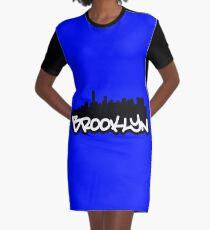Brooklyn NYC Graphic T-Shirt Dress
