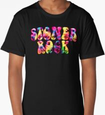 STONER ROCK - tie dye hippie Long T-Shirt