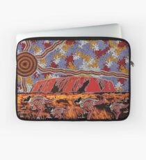 Uluru | Ayers Rock - Authentic Aboriginal Arts Laptop Sleeve