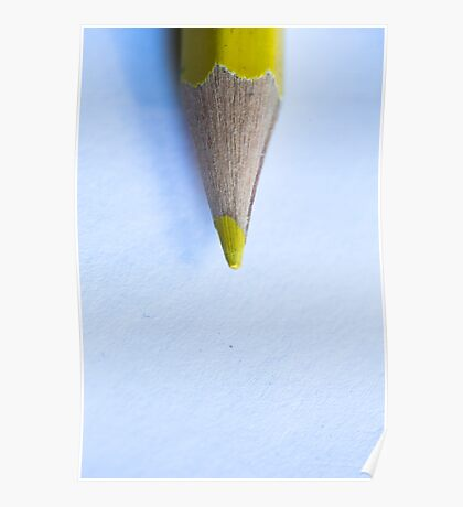 Yellow Pencil Poster
