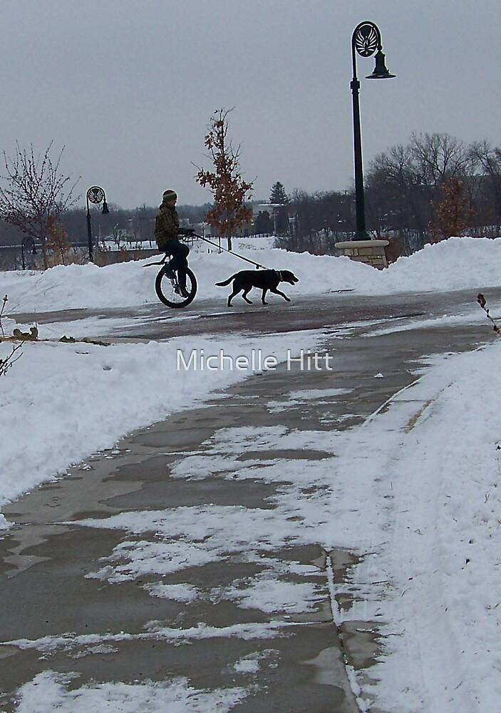 Walking the Dog by Michelle Hitt