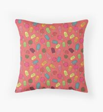 Summer Party Throw Pillow