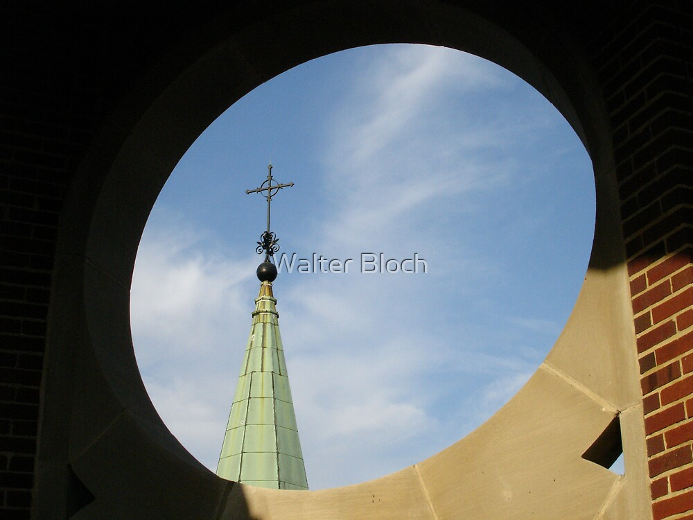 Spire in a Hole by Walter Bloch