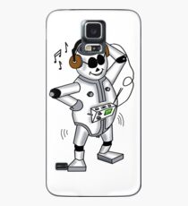 retro robot -the groover t-shirt Case/Skin for Samsung Galaxy