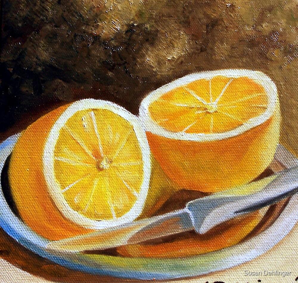 """""""Reflections of Orange"""" by Susan Dehlinger"""