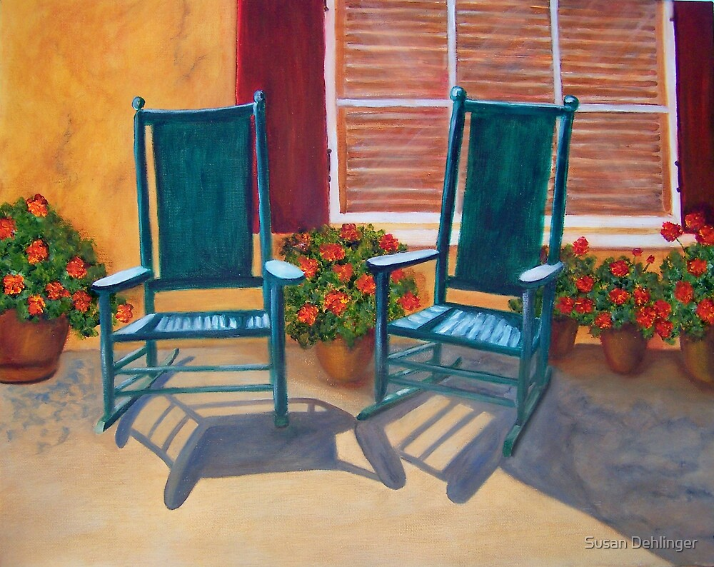 """""""Come Sit a Spell"""" by Susan Dehlinger"""