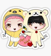 Monsta X - Kihyun & Minhyuk PPAP (ver.1) Sticker