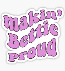 Theta: Making Bettie Proud Sticker