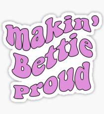 Theta: Making Bettie Proud Sticker