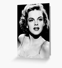 Judy garland old theam Greeting Card