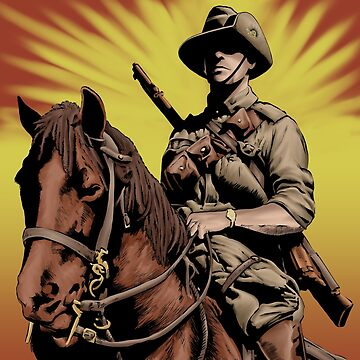ANZAC- Austrlian Light Horse by mrdenmac