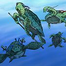 Real Ninja Turtles by Colin Wells