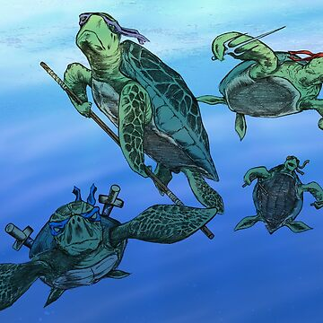 Real Ninja Turtles by mrdenmac