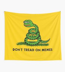 Don't Tread on Memes Wall Tapestry