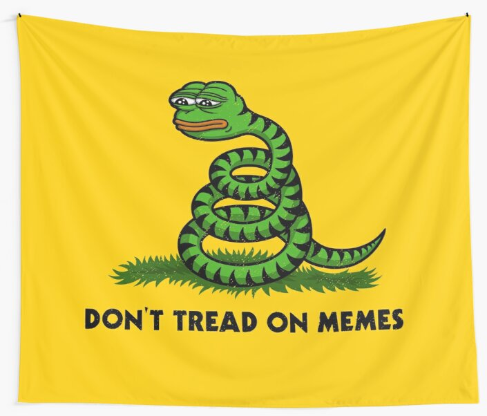 Don't Tread on Memes by HellFrog