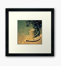 Little Pea-Pot-Poe Framed Print