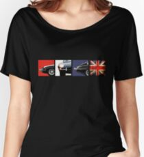 E-Type British Motoring Icon Women's Relaxed Fit T-Shirt