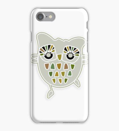 Eco Friendly Owl Family Hootenanny iPhone Case/Skin