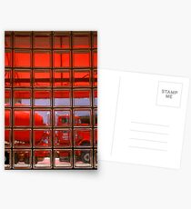0 Red Truck Stop HP Postcards